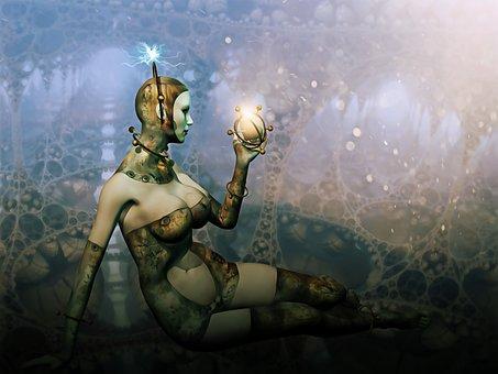 Fantasy, Scifi, Sci-fi, Woman, Female, Futuristic