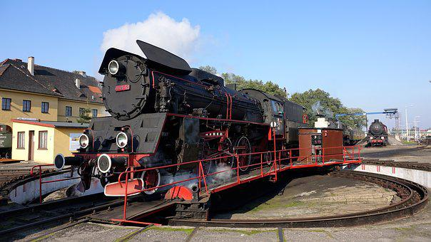 Poland, Nostalgia, Steam Locomotive, Hub