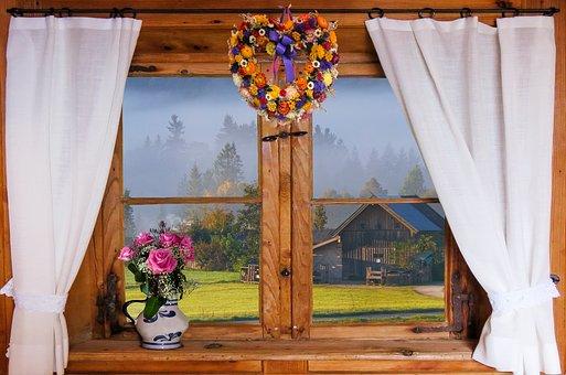 Nature, Landscape, Autumn, Autumn Beginning, Fog