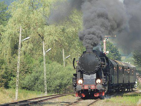 Locomotive, Railway, Smoke, Tourism, Train, Coal
