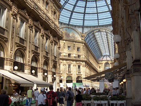 Milan, Shopping Arcade, Gallery Of Victor Emmanuel