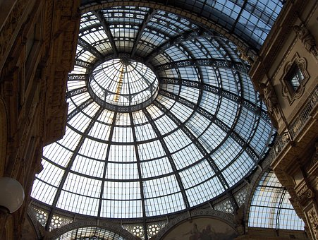 Milan, Shopping Arcade, Gallery Of Victor Emmanuel