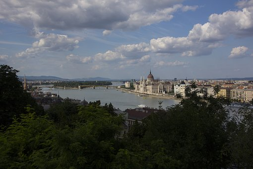 Hungary, Budapest, Parliament, Architecture