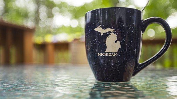 Mug, Travel, Michigan, Peninsula, Pure Michigan