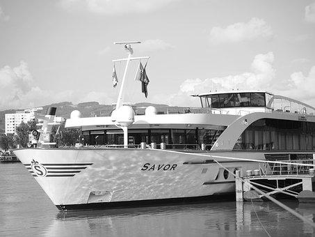 Boat, River, Water, Ship, Summer, Travel, Transport