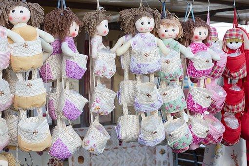 Dolls, Souvenir, Market