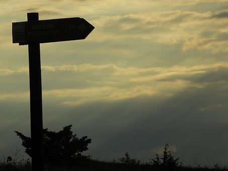 Sign, Tourism, Signpost, Hiking Trail, Trail, The Path