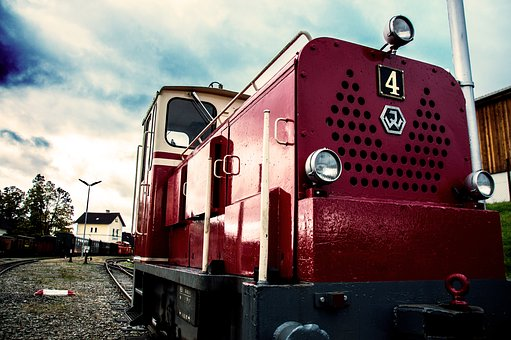 Train, Waldviertel, Narrow Gauge Railway, Loco, Seemed