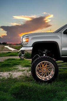 Truck, Lifted Truck, Off Road, Wheel, Off-road, Big