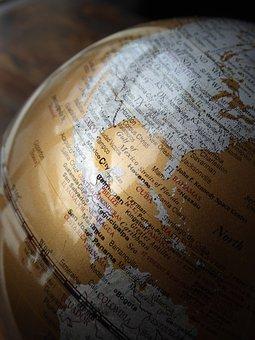 Globe, Earth, World, Map, Planet, Mexico, Florida