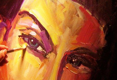 Painting, Artist, Paint Brush, Oil, Acrylic, Paint