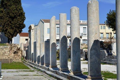 Grace, Athens, Columns