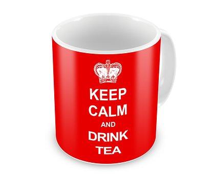 Keep Calm, Tea, Drink, Design, Cup