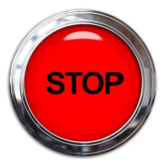 Stop, Sign, Button, Light, Red, Symbol, Warning