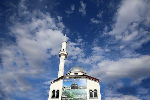 Mosque, Minarets, Architecture, Islam, Building, Muslim