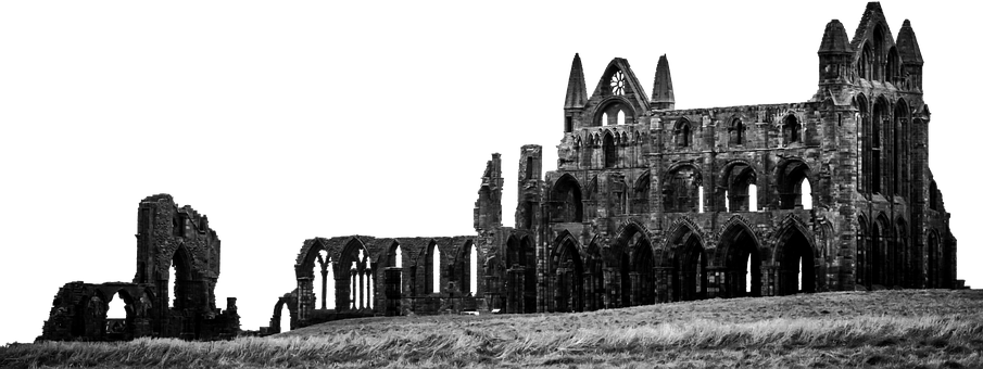 Ruin, Abbey, Vault, Monastery, Gothic, Isolated