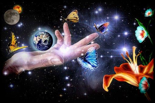 Earth, Sun, Moon, Space, Globe, All, Universe, Planet