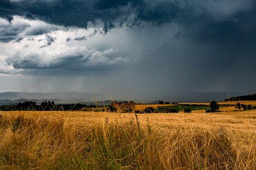 Color, Auvergne, France, Light, Sky, Cloudy Sky, Nature