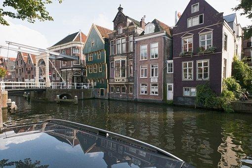 Alkmaar, Netherlands, Holland, Channel, Waterway