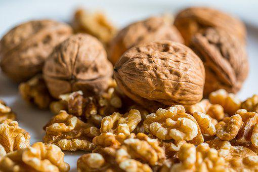 Walnut, Nut, Walnuts, Nuts, Fruit Bowl