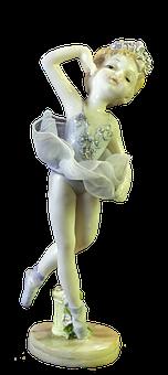 Porcelain Doll, Ballerina Doll, 3d Model