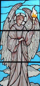 Angel, Stained Glass Windows, Guard
