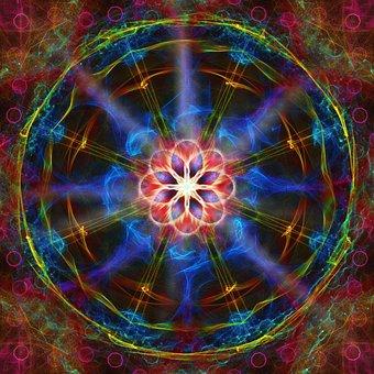 Mandala, Pattern, Kaleidoscope, Background, Structure