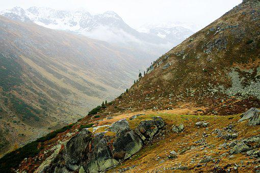Tops, High In The Mountains Autumn, Panorama