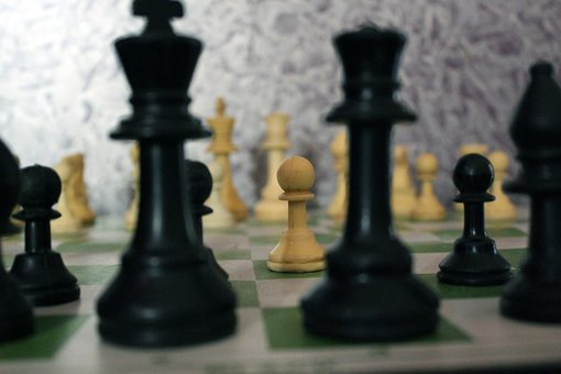 Chess, Game, Strategy, Board, Piece, Play, Black