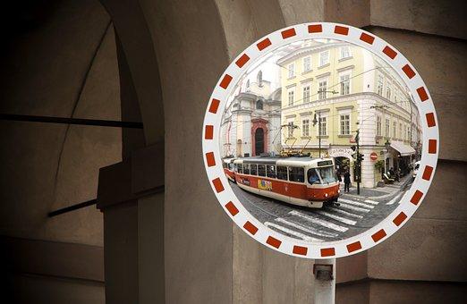 Prague, Tram, Czech Republic, City, Public Transport