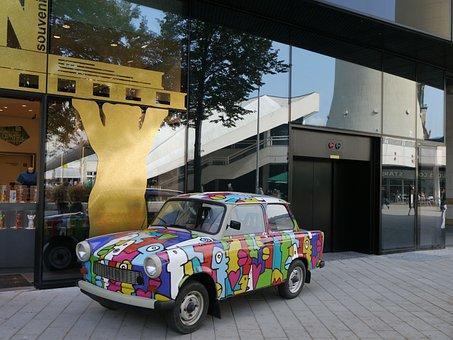 Trabi, Satellite, Classic, Trabbi, East Germany