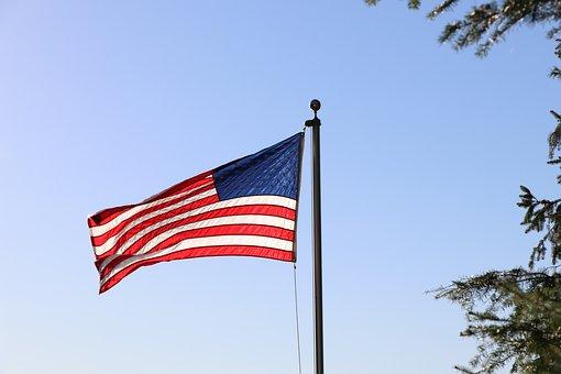 American Flag, Patriotic, Flag, Usa, Freedom, Waving