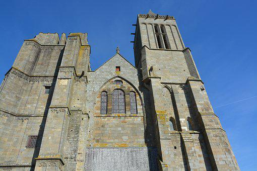 Cathedral, Dol Bretagne, Heritage, Architecture