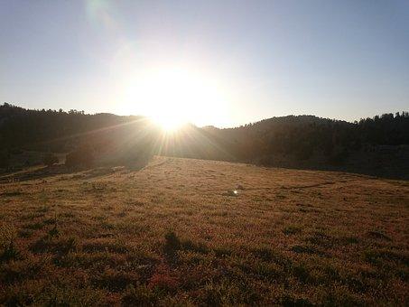Sunset, Nature, Mountain, Taylor, High, Landscape, Sky