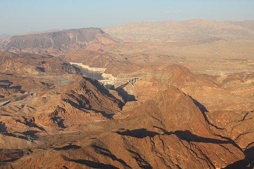 Hoover Dam, Las Vegas, Arizona, Dam, Lake, Nevada