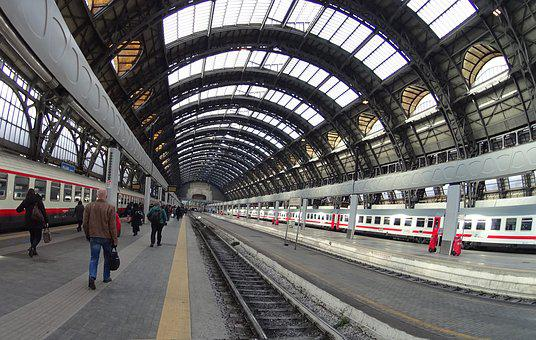 Milan Central, Milan, Station, Train, Gallery
