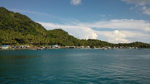 Island, Sea, Travel, Tropical, Ocean, Seashore, Lagoon
