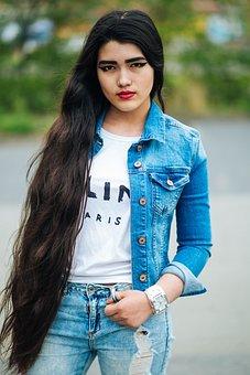 Girl, Beautiful, Photoshoot, Beauty, Youth, Posture