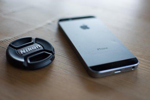 Iphone, Mobile, Smartphone, Smart Phone, Nikon Cap