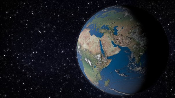 Earth, Europe, Africa, Space, Globe, Continents