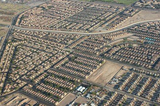 Las Vegas, Suburbs, Vegas, Las, Nevada, Landscape