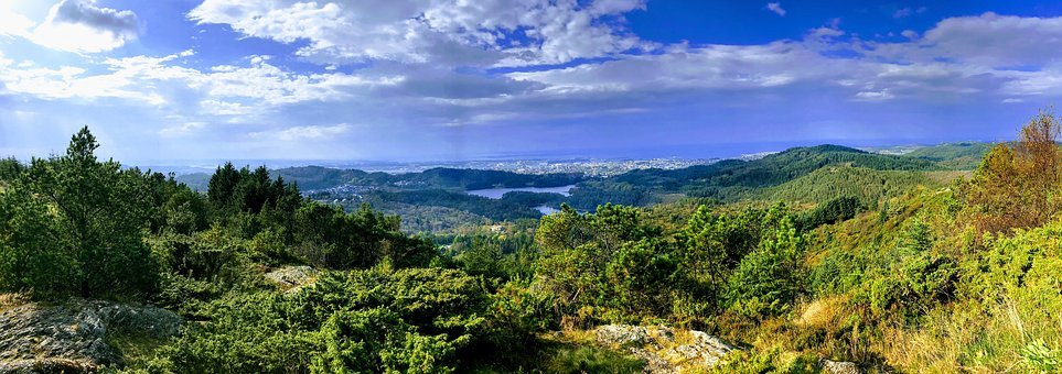 Steinsfjellet, Mountain, Views, The Nature Of The