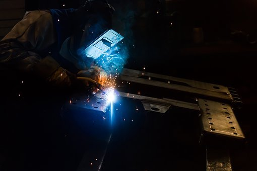 Welding, Welder, Work, Machine, Technology, Factory