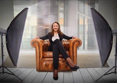 Job Interview, Woman, Female, Job, Attractive