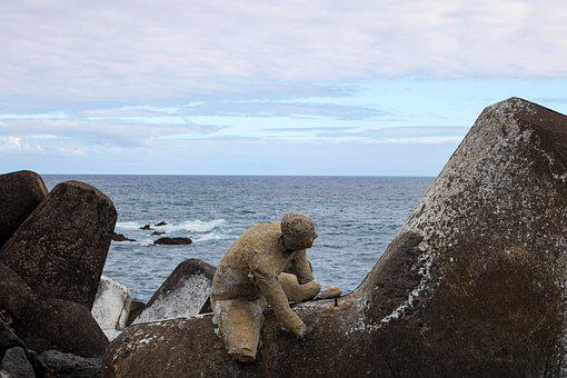 Art, Sculpture, Cement, Mar, Construction, Comanche