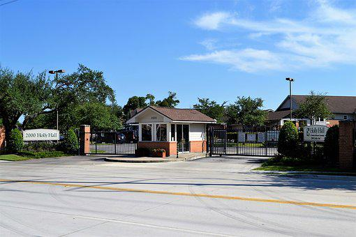 Gated Community, Houston, Texas, Town Houses, Buildings