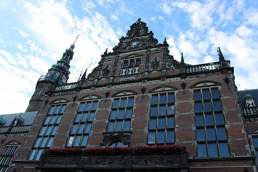 Building, Architecture, Groningen, Old Building