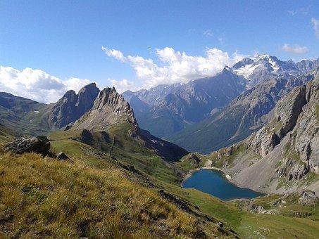 Grand Lake, Alps, Jewel Cases, Hautes Alpes