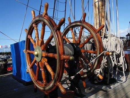 Sailboat, Rope, Boat, Sea, Port, Mats, Navigation