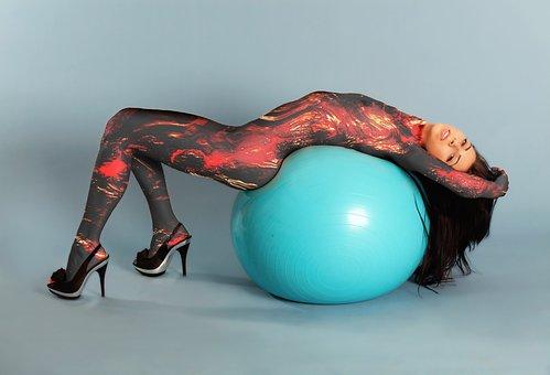 Nude, Gym Ball, Fitness, Magma